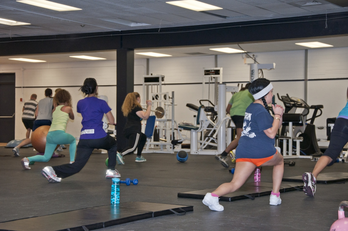 TRU students and staff have access to free fitness classes thanks to TRU Recreation. - Photo by Karla Karcioglu