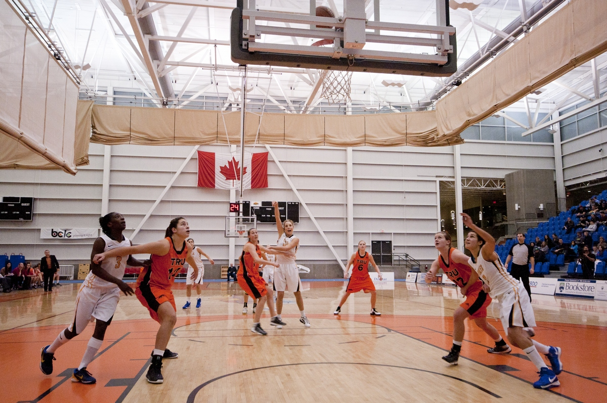 WolfPack women continued towards the post-season with a victory over UVic on Jan. 26. - Photo by Adam Williams