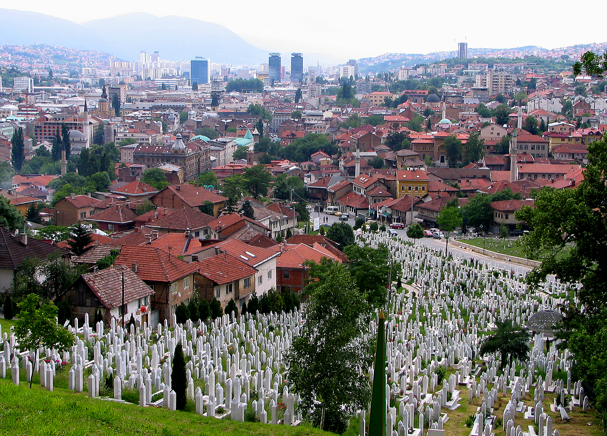 Sarajevo, May 2007. Photo by David Dufresne/ Flickr Creative Commons