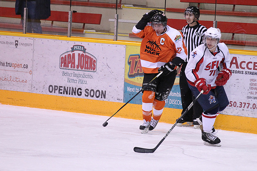 Curtis Tonello's season may be done but he and a number of the WolfPack's core players will return for the 2013-14 season. - PHOTO BY ANDREW SNUCINS