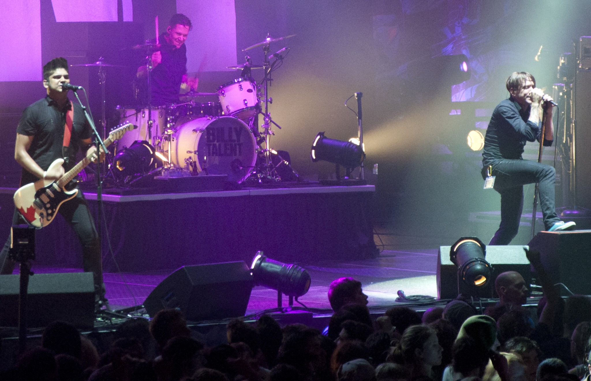 Billy Talent headed a four band all-Canadian punk rock arena show. - PHOTO BY JESS BUICK