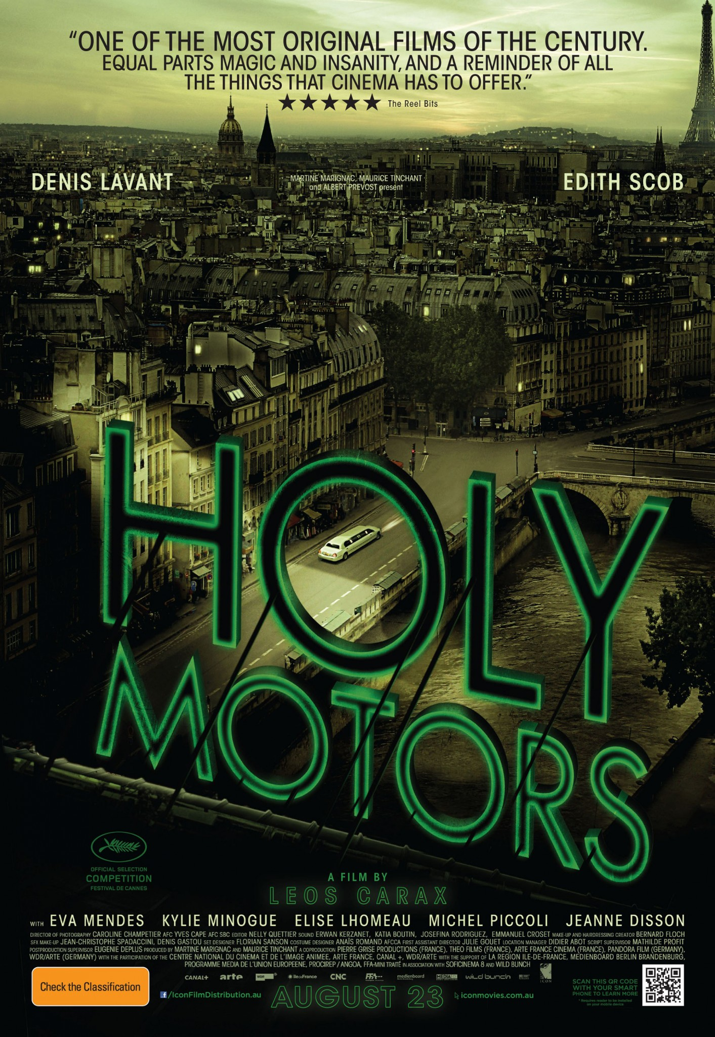 Holy Motors was the Kamloops Film Festivals evening feature Saturday, March 9.