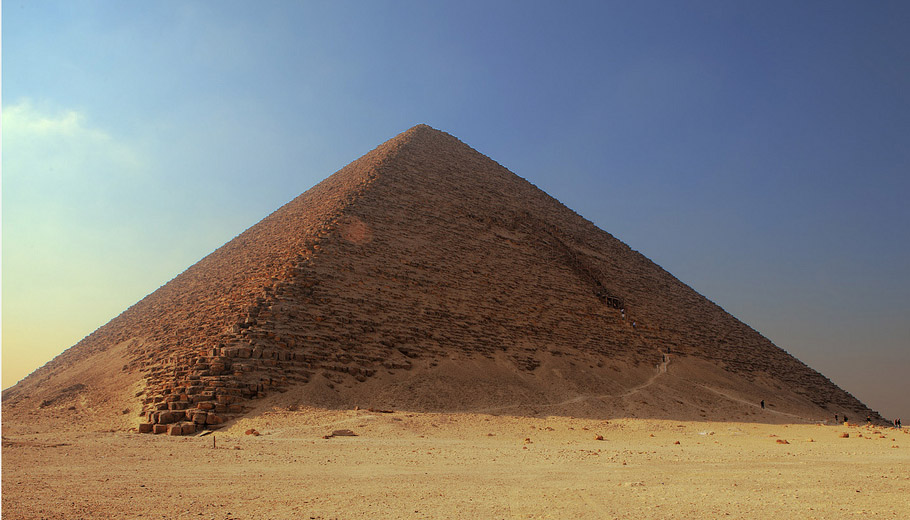 The Red Pyramid at Dahshur.-PHOTO COURTESY OF DISCOPALACE