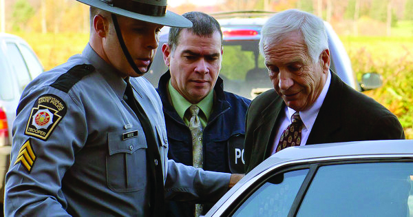Disgraced former Penn State University football coach Jerry Sandusky received 30 to 60 years for his abuse of young men.                    —PHOTO COURTESY MARSMET551/FLICKR COMMONS