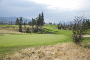 Looking back from the sixth green down the sixth fairway at Eagle Point Golf Resort. Mike Davies/The Omega
