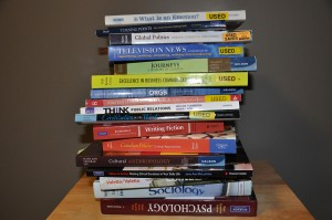 Textbook costs can really pile up. Karla Karcioglu/The Omega