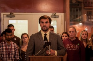 Saint Mary's University Student Association President Jared Perry announced on Friday, Sept. 6 that he would be stepping down as president of SMUSA. (Michael Langlais/The Journal)