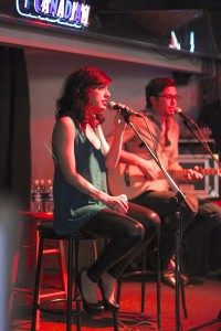 Jessica Lee played a free show at Bailey's Pub sponsored by The River on Sept. 24. Nicolaus Waddell/The Omega