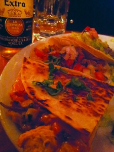 The platter on offer at Quilas Mexican Restaurant during Dishcrawl in Kamloops