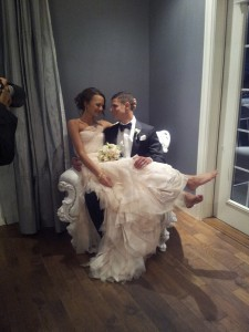 Cassie and Sebastian at their wedding in September of 2013. Photo submitted.