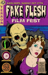 The Fake Flesh Film Fest appeared in Kamloops on Oct. 27.