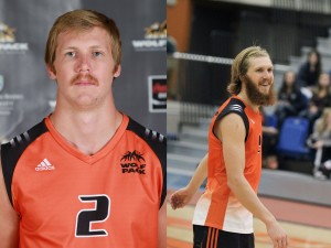Colin Carson has traded his moustache for a beard in hopes that it will help lead the WolfPack back to the post-season this year. Andrew Snucins photos