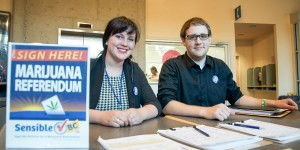 Students bring Sensible BC campaign to campus