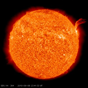 The sun is currently experience the least amount of solar activity in 100 years as it's entering a solar lull. NASA Goddard Space Flight Center/Flickr Commons