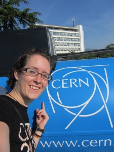 Hedrich spent her summer working at CERN, the largest particle physics research facility in the world. Photo courtesy Natascha Hedrich