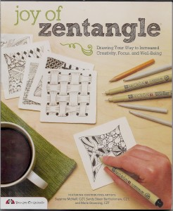 Zentangle is a new way to keep your brain active and get your creative juices flowing. Image courtesy Design Originals