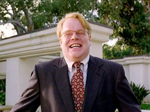 The late Philip Seymour Hoffman in The Big Lebowski.