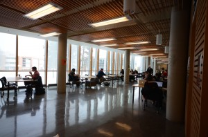 Student representatives on the student engagement committee are putting forth a proposal to assess whether there is enough study space on campus and if any is being under-utilized. Jessica Klymchuk/The Omega
