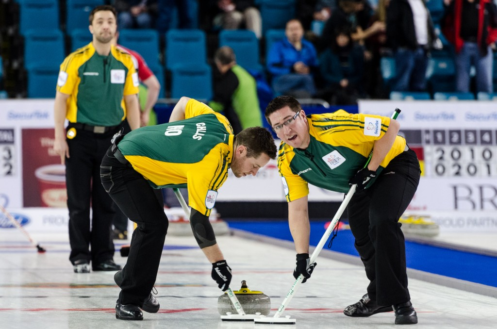 Northern Ontario fell to 2-8 in draw 14 on March 6. The rink will play Quebec (4-4) in draw 16 on March 6. Sean Brady/The Omega