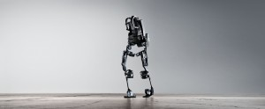 Exoskeletons, such as the one pictured here, may be the secret to surpassing human potential. Ekso Bionics/Flickr Commons
