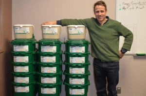 James Gordon brought composting to TRU in the hopes it will influence people to start doing it at home to reduce green house gas emissions. Karla Karcioglu/The Omega