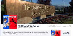 TRU Student Confessions teaches lesson in civil discourse