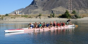 TRU's first dragon boat voyage is a success