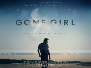 """Gone Girl"" movie poster. (Image courtesy of 20th Century Fox)"
