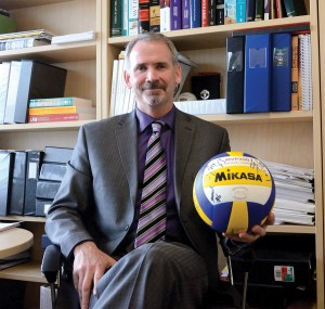 Jon Heshka, an expert in adventure law, plans to create a sports centre for excellence and sports certificate at TRU (Tayla Scott/The Omega)