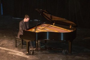Maxim Bernard played Tchaikovsky's romantic and tragic overture of Romeo and Juliet in the latest Live! at TRU concert series. (Zain Bakhtiar/The Omega)