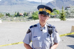 Cheryl Bush, RCMP media relations officer in Kamloops. (Jim Elliot/The Omega)