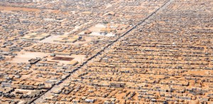 With an est. 83,000 refugees, the Zaatari camp in Jordan supports nearly as many Syrians as there are people in Kamloops. (U.S. State Dept.)