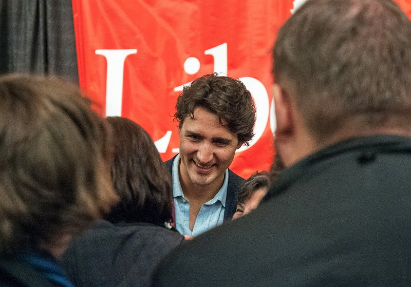 Trudeau, seen here at his visit to TRU in 2013. (Sean Brady/The Omega)