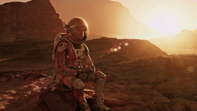 The Martian, starring Matt Damon, is in theatres now. (Twentieth Century Fox)