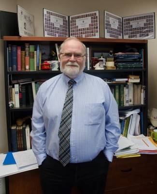 Tom Dickinson, Dean of Science (Wade Tomko/The Omega)