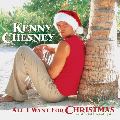 Kenny Chesney Christmas album cover