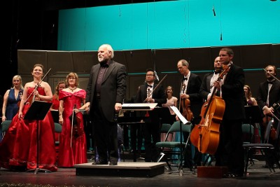 The Kamloops Symphony Orchestra taking their final bow on Friday Jan. 15 (Jennifer Will/The Omega)