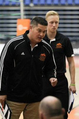 Men's volleyball coach Pat Hennelly. (TRU Athletics)