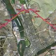 Kinder Morgan's proposed route for its pipeline expansion through Kamloops. (Kinder Morgan)