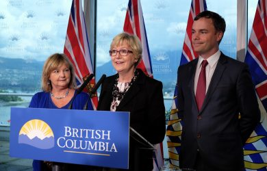 The announcement was made on July 20, 2016 by Minister of Justice, Suzanne Anton, MLA for Vancouver-West End, Spencer Chandra Herbert and MLA for North Vancouver-Seymour, Jane Thornthwaite. (B.C. Government)