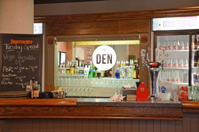 The classic campus pub Heroes has rebranded to become The Den. It also added longer hours and changed its liquor license to food-primary, allowing younger patrons to enter. (Jared MacArthur/The Omega)