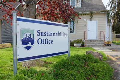 TRU's Sustainability Office just behind the human resources building. (Jared MacArthur/The Omega)