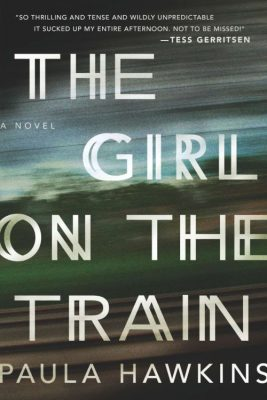 "This photo provided by Riverhead Books shows the cover of the book, ""The Girl on the Train,"" by author Paula Hawkins. (AP Photo/Riverhead Books)"