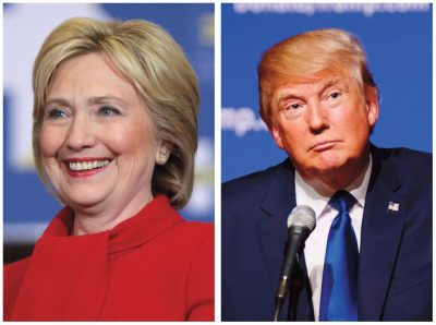 The United States Presidential Election will be held on Nov. 8. (Photos Gage Skidmore and Michael Vadon)