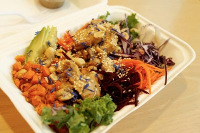 One of BeTeased's most popular dishes: The Ninja Bowl.