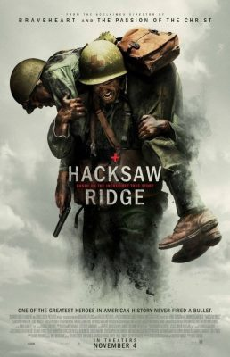 Hacksaw Ridge cover.