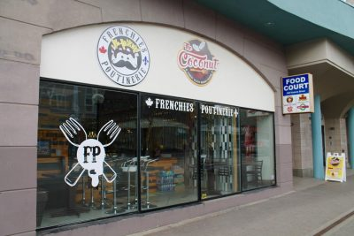 Frenchies Poutinerie is located Downtown on 104-340 Victoria St. (Veronica Kos/The Omega)