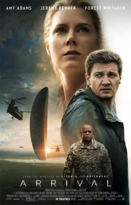 Arrival is a 2016 American science fiction thriller film directed by Denis Villeneuve