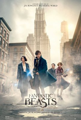 Fantastic Beasts and Where to Find Them is Written by J.K. Rowling, and directed by David Yates.